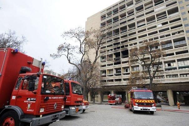 incendie immeuble cite radieuse