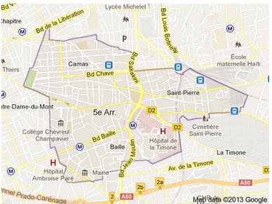 Acheter ou louer dans le 13005 à Marseille