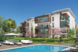 Achat appartement neuf 13009 Marseille - résidence avec piscine le Moana