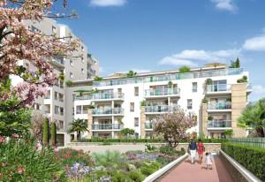 Acheter un appartement neuf dans le quartier du Rouet dans le résidence Côté 8eme 13008