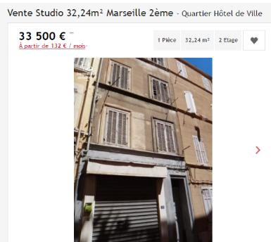 acheter appartement 100 000 euros