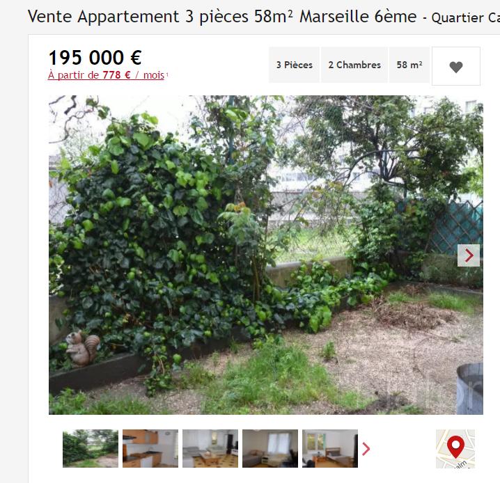 acheter un appartement a castellane