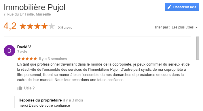 agence immobiliere pujol avis