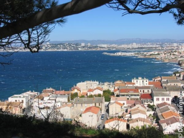 Quartier de la plage Marseille