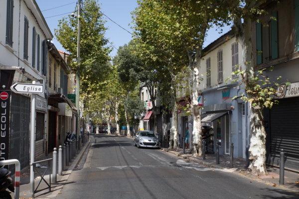 Quartier croix rouge Marseille